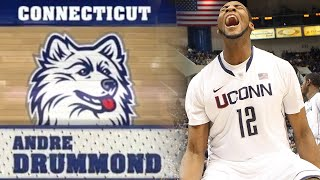 UConn Highlights: Andre Drummond - Freshman Season (2011-2012)