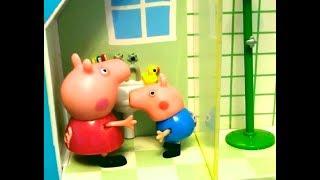 Мультфильм игрушками Свинка Пеппа Свинка Pig Мороженое