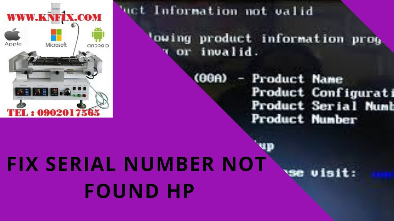 hp serial number manufacture date