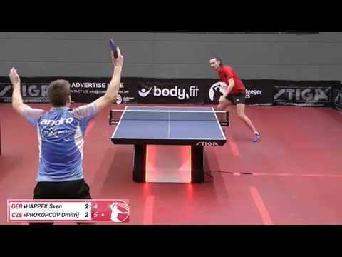 Sven Happek vs Dmitrij Prokopcov (Challenger series, March 2nd 2018, group match)
