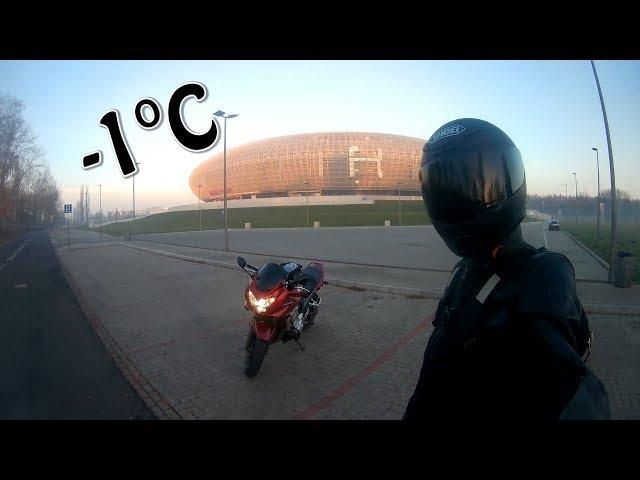 Motovylet na Ukrajinu kde jsem nedojel, protože jsem málem umrznul