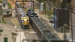 Beautiful Model Railway Layout in HO scale