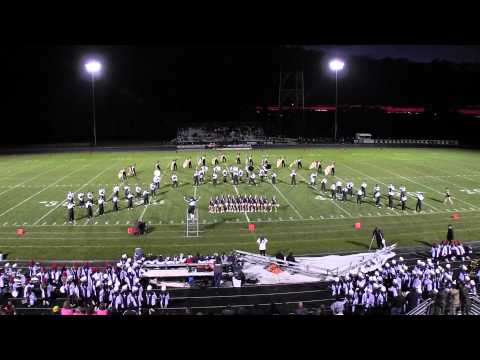 Padua Franciscan High School Marching Band, Sept 13, 2013
