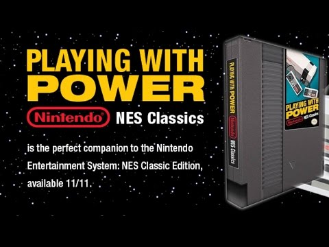 Playing With Power: Nintendo NES Classics Book Announced - #CUPodcast