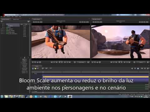 Source Film Maker - Criando Wallpapers!
