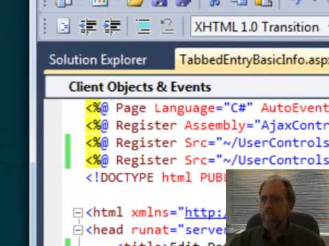 Web Programming - AJAX Tab Container