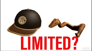 ROBLOX PI DAY ITEMS LIMITED?