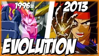Evolution of GOD FINGER (1995-2013) | ゴッドフィンガー | SRW