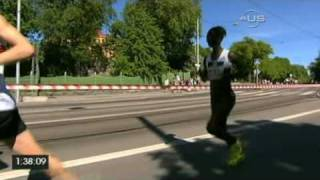 Andersson repeats in Stockholm Marathon from Universal Sport