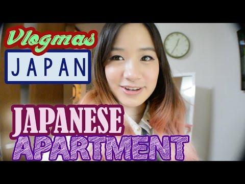Japanese Apartment Tour | Vlogmas #20 | KimDao in JAPAN