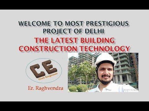 Construction Site Visit | Vlog | Most prestigious project of Delhi | Er. Raghvendra