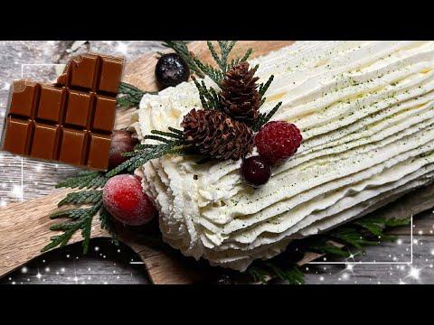 bûche-de-noël-facile-au-chocolat-praliné-|-enjoycooking