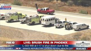 FULL COVERAGE: Massive Fire Shuts Down I-17 Freeway in North Phoenix (FNN) thumbnail