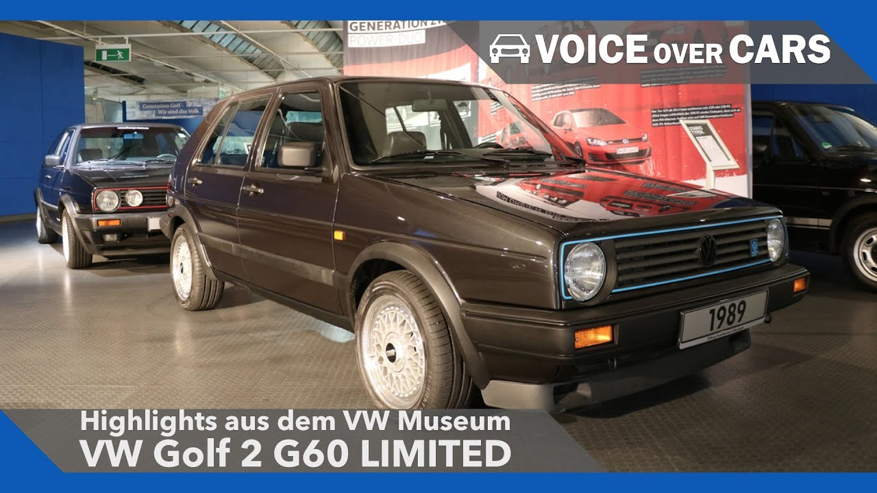vw golf 2 16v g60 limited vw museum highlights 2016 youtube. Black Bedroom Furniture Sets. Home Design Ideas
