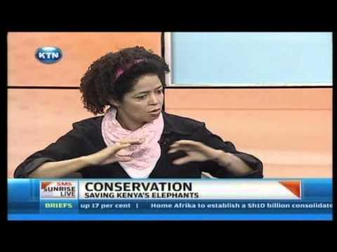 Sunrise Live Interview : Wildlife Conservation - Saving Kenya's Elephants