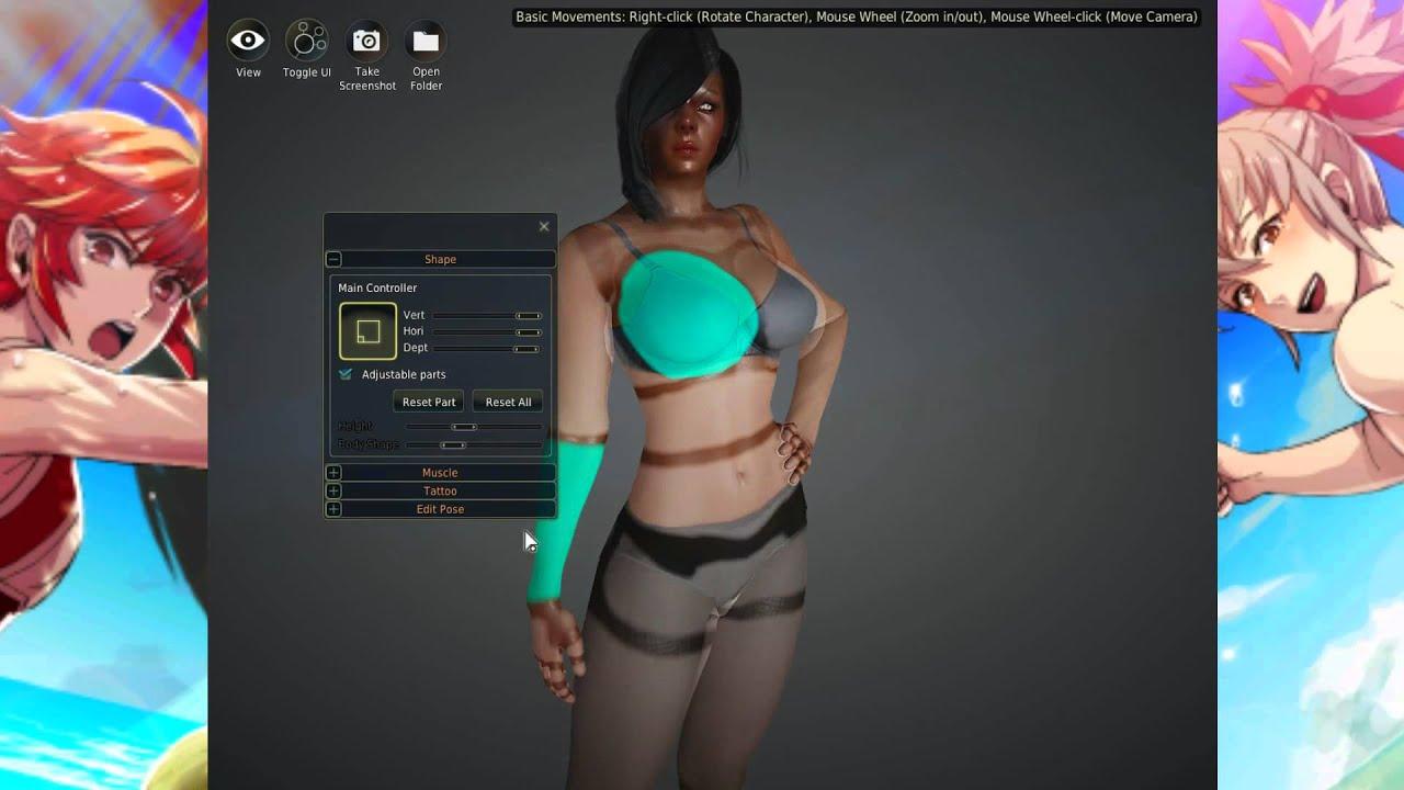 black online Sexy video