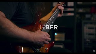 John Petrucci demos his Ernie Ball Music Man JP BFR 6