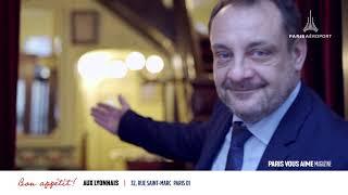 Paris vous aime Magazine : Le bouchon parisien du chef Alain Ducasse