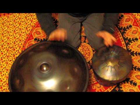 Halo and Dragon Tank Drum - Christopher of the Wolves