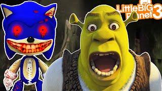 Sonic Scares Shrek   LittleBigPlanet 3