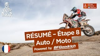 Résumé - Auto/Moto - Étape 8 (Uyuni / Tupiza) - Dakar 2018
