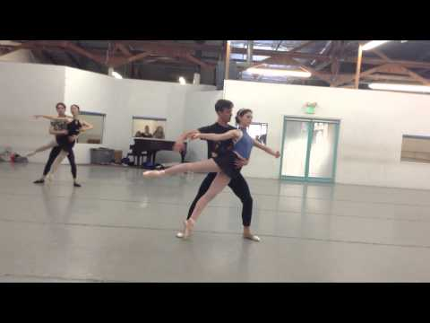 Inland Pacific Ballet - Beauty and the Beast rehearsal