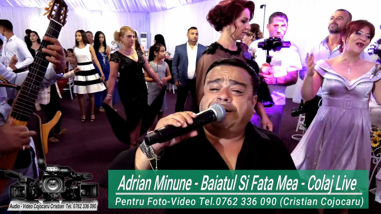 Adrian Minune - Baiatul si Fata Mea - Colaj Manele Live (Videoclip Full HD)