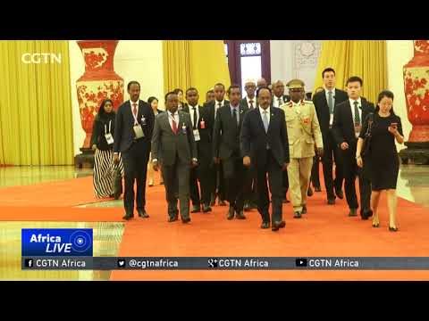 Somalia signs MOU with China to join the Belt and Road Initiative
