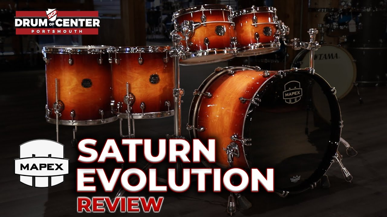 Download The New Mapex Saturn Evolution Drum Set Review