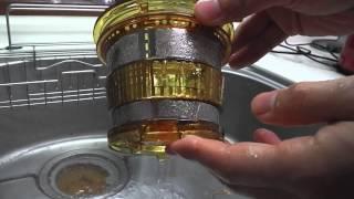 自宅でコールドプレスジュース 洗浄編 thumbnail