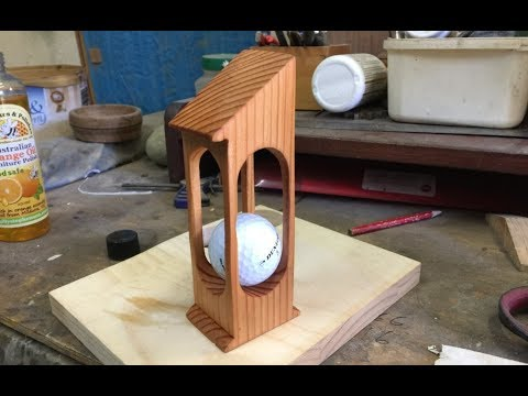 How to Make an IMPOSSIBLE Golf Trophy
