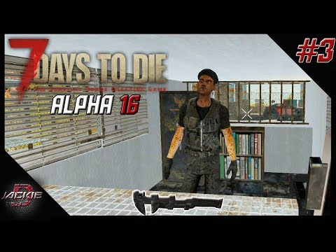7 Days to Die Alpha 16 Gameplay | Part 3 | BARTERING FLAWLESS TOOLS!!