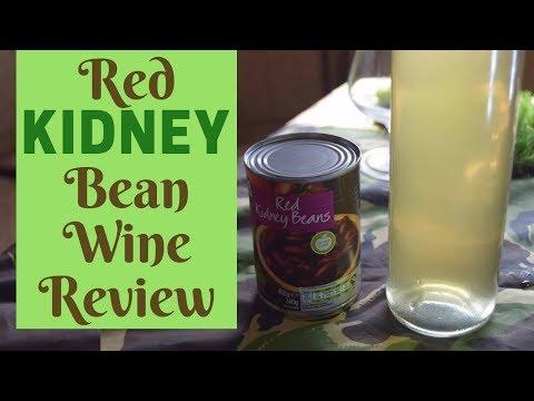 Red Kidney Bean Wine: The Taste Test!