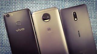 ViVo V7 Plus vs Moto G5s Plus vs Nokia 6 Speed Test | Which Is Faster!