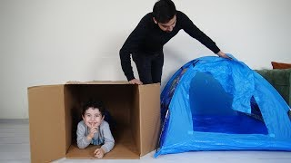 Yusuf ve Dayısı Saklambaç Oynadılar | Kids Play with Magic Boxes Hide and Seek
