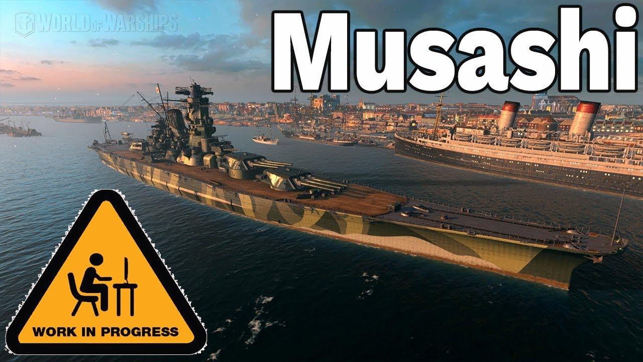 WOLĘ MISSOURI – MUSASHI WKRACZA DO WORLD OF WARSHIPS