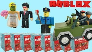 Roblox Toys Series 3 Blind Boxes, Stop-Motion Animation, Celebrity Bride Unboxing - Toy Review