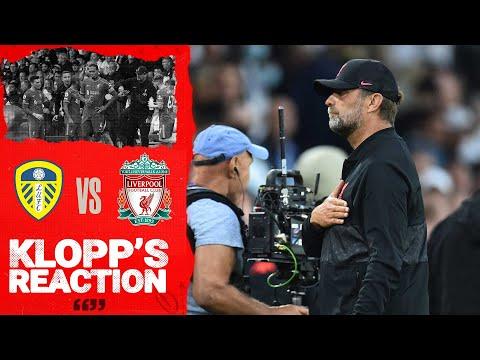 Klopp Reaction: Harvey Elliott Update, Performance and Bielsa |  Leeds Utd vs LIverpool