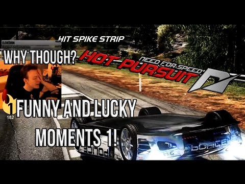 Funny And Lucky Moments - NFS Hot Pursuit - Ep. 1