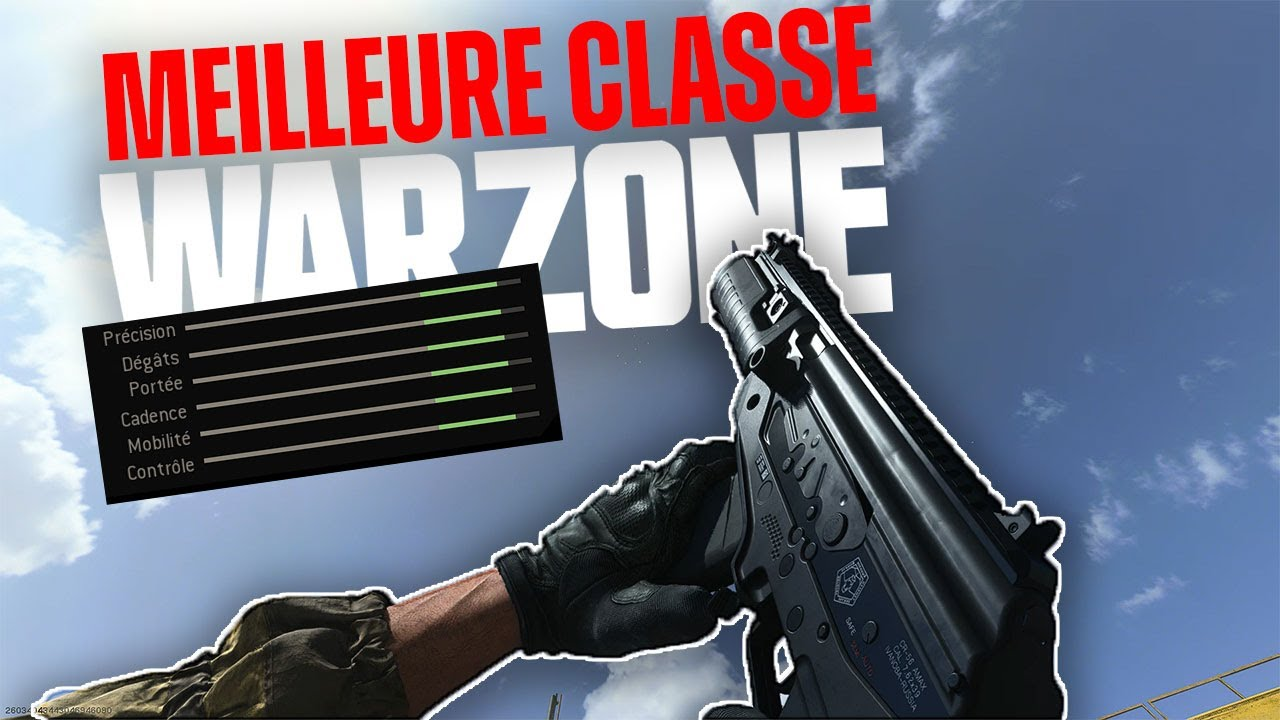 MEILLEURE CLASSE WARZONE LE BATTLE ROYALE DE CALL OF DUTY MODERN WARFARE ???!!!