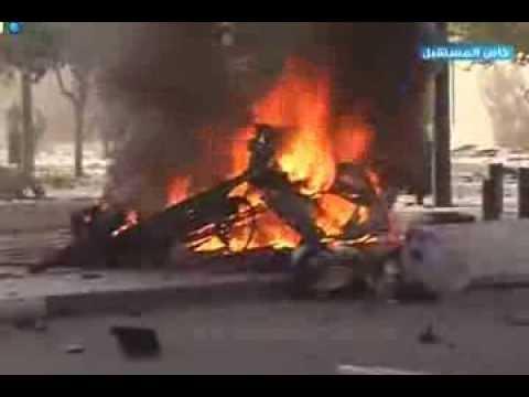 Bomb explosion in Beirut, Lebanon - خاص المستقبل: انفجار وسط بيروت