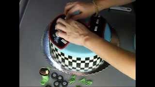 Torta sa auticima - Cars cake.wmv