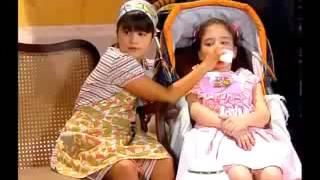 Chiquititas Crianças brincam de familia no orfanato e Carmem flagra
