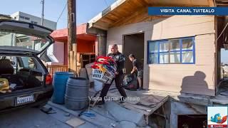 Se derrumban viviendas de la colonia Reforma en Tijuana