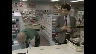 Repeat youtube video Mr. Bean - Shopping