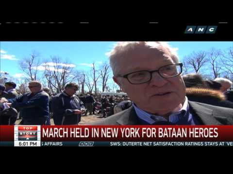 March held in New York for Bataan heroes