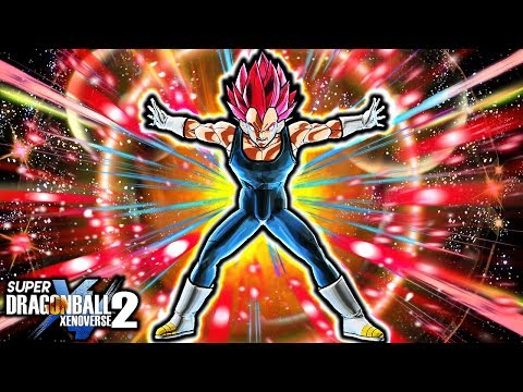 NEW BLAZING GOD VEGETA PACK! Dragon Ball Xenoverse 2 Gameplay (ALL CUSTOM MOD)