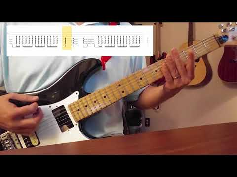 Sevendust - Rumble Fish (Guitar Cover) (Scrolling Tabs In Video)