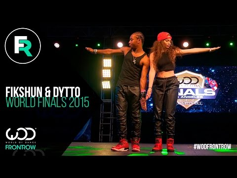 Fik-Shun & Dytto  FRONTROW  World Of Dance Finals   WODFINALS15