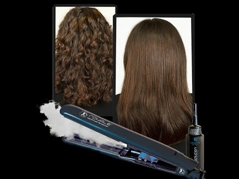 Today's Deal: Royale Vapor Styling Iron with Argan Oil